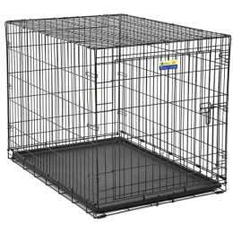 MidWest Contour Single Door Dog Crate 42 in