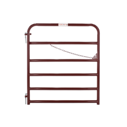 Tarter 6 Bar Economy Gate Red 4 ft