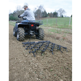 Tarter ATV 4 ft x 4 ft Chain Harrow With 4 ft Drawbar