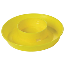 Little Giant Screw-On Poultry Waterer Base Yellow