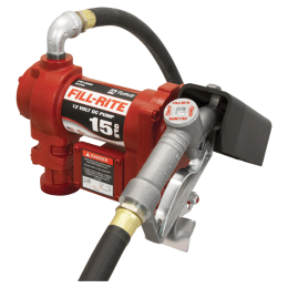 Fill-Rite 12 Volt DC Pump with Hose and Manual Nozzle