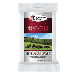 Champion 's Choice Mix-N-Fine Salt 50 lb