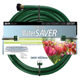 Swan Fairlawn Watersaver Light Duty Hose 1/2 in x 50 ft
