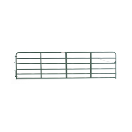 Tarter 6 Bar Extra Heavy-Duty Bull Gate Green 16 ft
