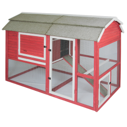 Precision Pet Old Red Barn II Chicken Coop