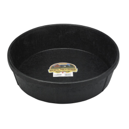 Duraflex Black Rubber Feed Pan