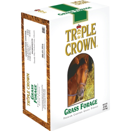Triple Crown Grass Forage for Horses 40 lb