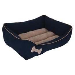 Petmate Rectangular Dog Lounger 21 in x 25 in