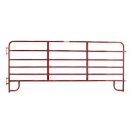 Tarter 6-Bar Economy Corral Panel Red 12 ft