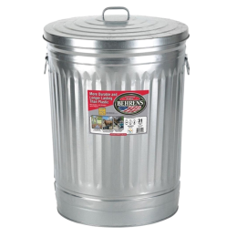 Behrens Steel Trash Can 31 gal