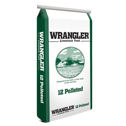 Wrangler 12 Pelleted Livestock Feed 50 lb