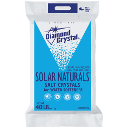 Diamond Crystal Solar Naturals Salt Crystals 40 lb