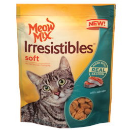 Meow Mix Irresistibles Soft Cat Treats Salmon 3 oz