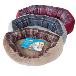Aspen Pet Oval Lounger Assorted 20 in x 15 in