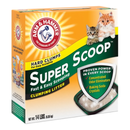 Arm & Hammer Super Scoop Scented Cat Litter 14 lb