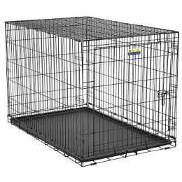 MidWest Contour Single Door Dog Crate 48 in