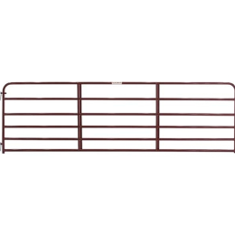 Tarter 6 Bar Economy Tube Gate Red 14 ft