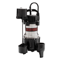 Red Lion Stainless Steel Sump Pump With Vertical Switch 1/2 Hp