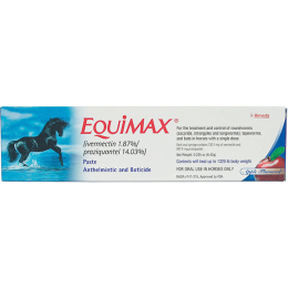 Equimax Horse Dewormer 6.42 gm Tube