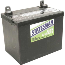 Statesman Lawn & Garden & Garden Wet Battery Left 12-Volt