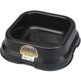 Duraflex Feed Pan Black 10 qt