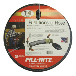 Fill-Rite Fuel Transfer Hose 1 in X 14 ft