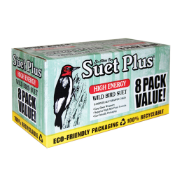 Suet Plus High Energy Wild Bird Suet Cakes 8 Pack