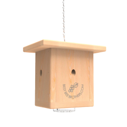 Best Bee Brothers Pine Wood Bee Box Trap