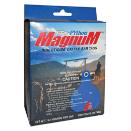 Python Magnum Insecticide Ear Tags 20 Pack