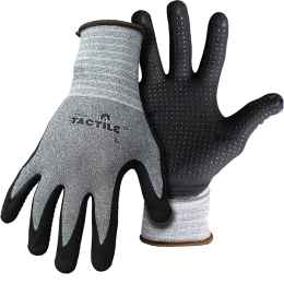 Boss Tactile Dotted & Dipped Nylon Nitrile Palm Gloves
