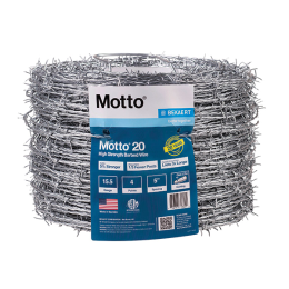Motto High Tensile 4-Point Barbed Wire 1320 ft