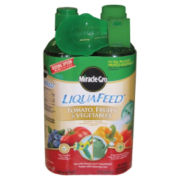 Miracle-Gro LiquaFeed Tomato, Fruits & Vegetables Plant Food 2 Pack