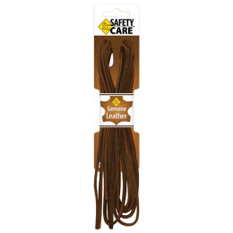 Safety Care Genuine Leather Lace Brown 5/32 x72 in