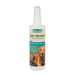 Naturvet Quiet Moments Herbal Calming Spray For Dogs 8 oz