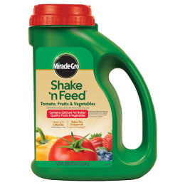 Miracle-Gro Shake 'N Feed Plus Calcium For Tomato, Fruits & Vegetables 4.5 lb