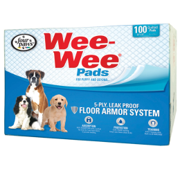 Four Paws Wee Wee Pads Extra Large 23 in x 24 in 100 Pack
