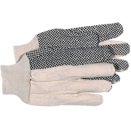 Boss Poly/Cotton Dotted Glove Large