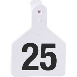 Z Tag Calf Ear Tag One-Piece 1-25