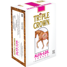 Triple Crown Alfa-Lox Forage for Horses 40 lb