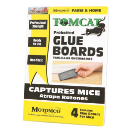 Tomcat Prebaited Glue Boards 4 Pack