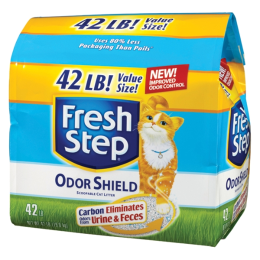 Fresh Step Odor Shield Scented Cat Litter 42 lb