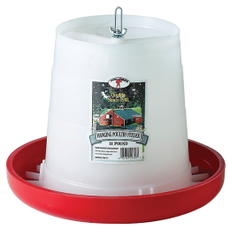 Little Giant Plastic Hanging Poultry Feeder 11 lb