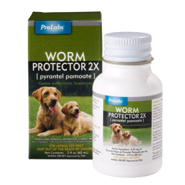 Prolabs Worm Protector 2x Paste For Puppies & Dogs 2 oz