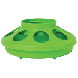 Little Giant Plastic Feeder Base Apple Green 1 qt