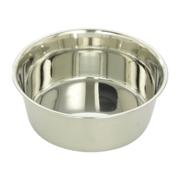 Indipets Stainless Steel Pet Dish 2 qt