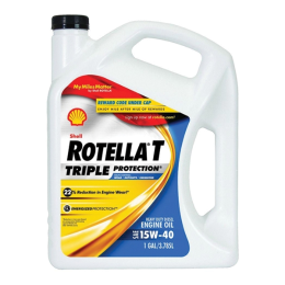 Shell Rotella T Heavy Duty Motor Oil SAE 15W-40 1 gal