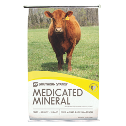 Southern States Genetic Expression Weathershed Beef Breeder HI-Mag Mineral w/Altosid 50 lb