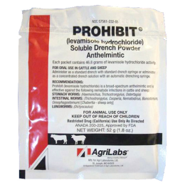 Agrilabs Prohibit Soluble Drench Powder 52 gm