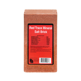 Roto Salt Red Trace Mineral Brick 4 lb
