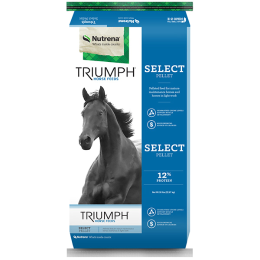 Triumph Select Pelleted Horse Feed 50 lb